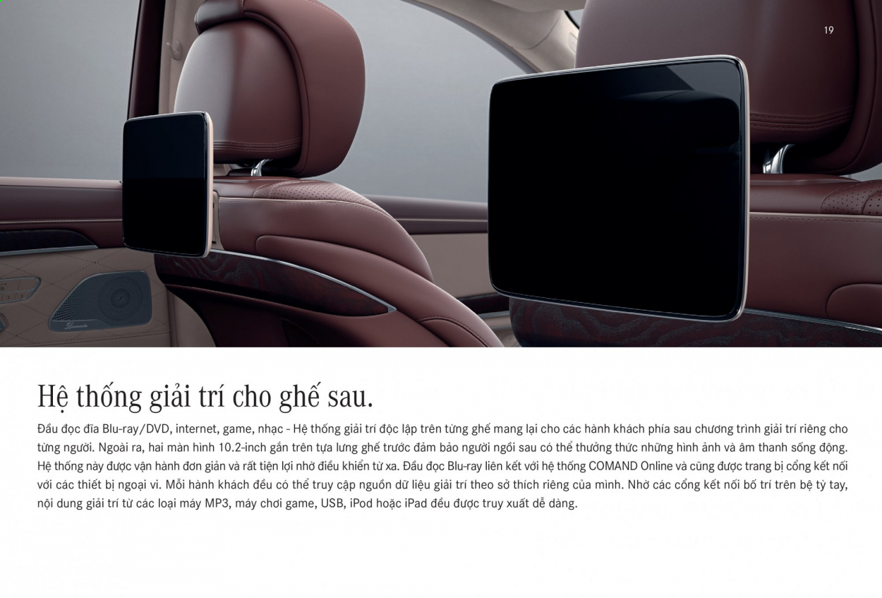 Mercedes-Benz offer . Page 19.